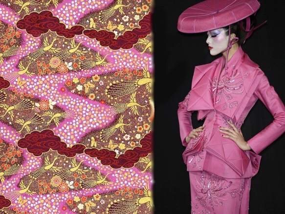 dior pink paper