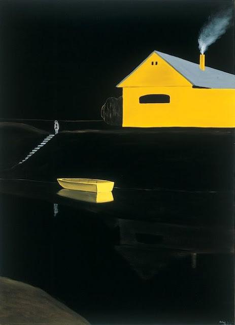 lazlo yellow boat