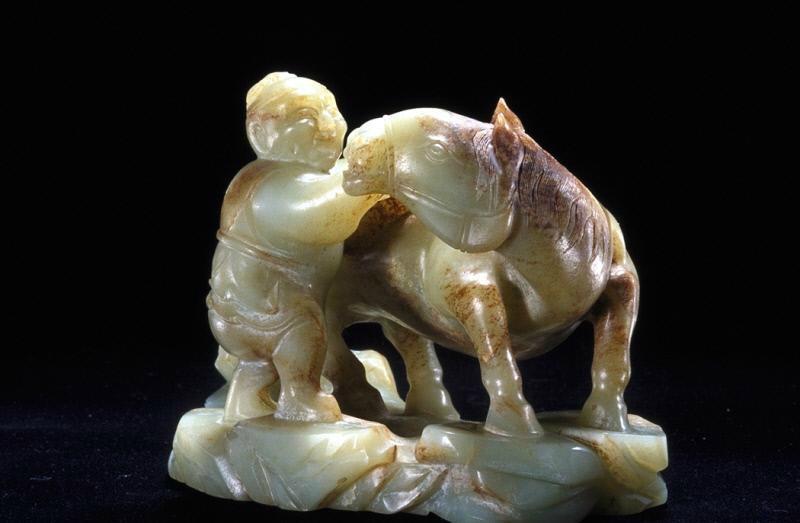 Qing 1700 ©museum chong-Moon lee mongolian horse