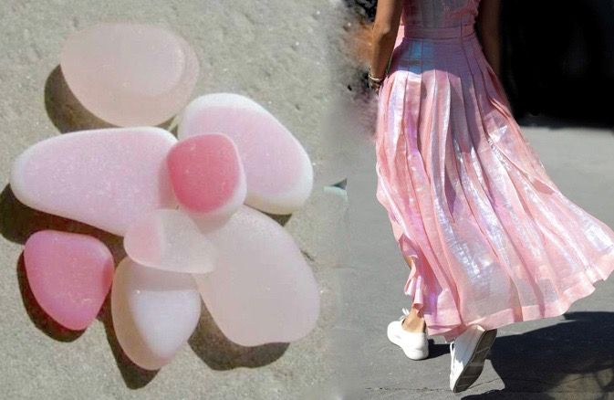 pink seaskirt