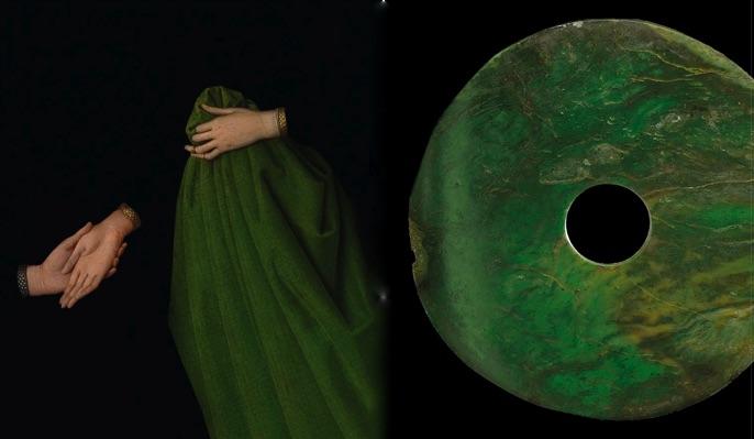 Van eyck:neolithic jade green