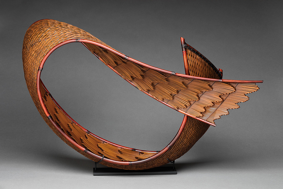 Honma hideaki Flowing pattern 2018 madake&nemagari bamboo-TAI modern santa fe 2