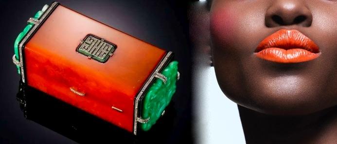 Cartier orange mouth